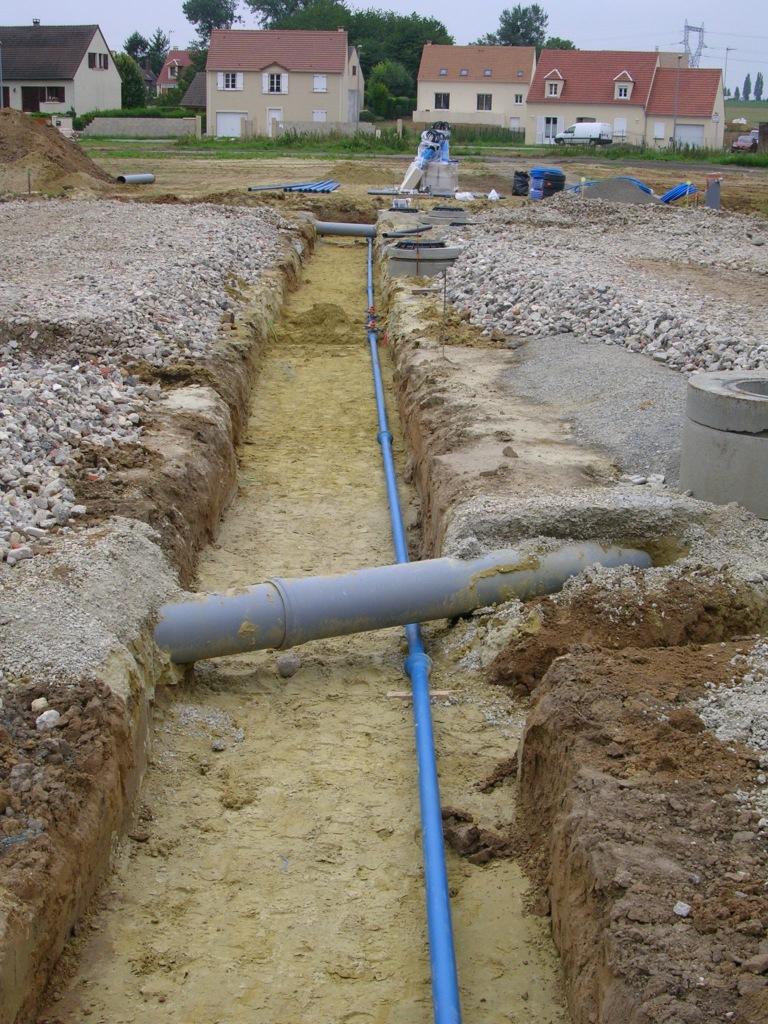 Sect vrd cr ation renforcement eau potable sect vrd for Prix forage eau potable